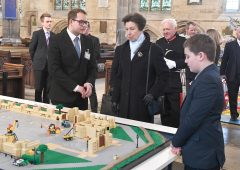 HRH The Princess Royal adds bricks to our big build featured image