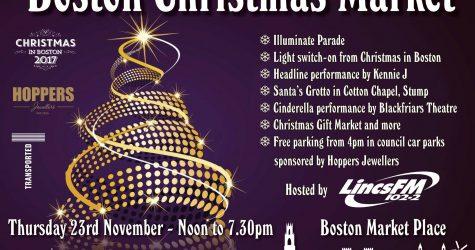 Boston Christmas Market & Illuminate Parade featured image