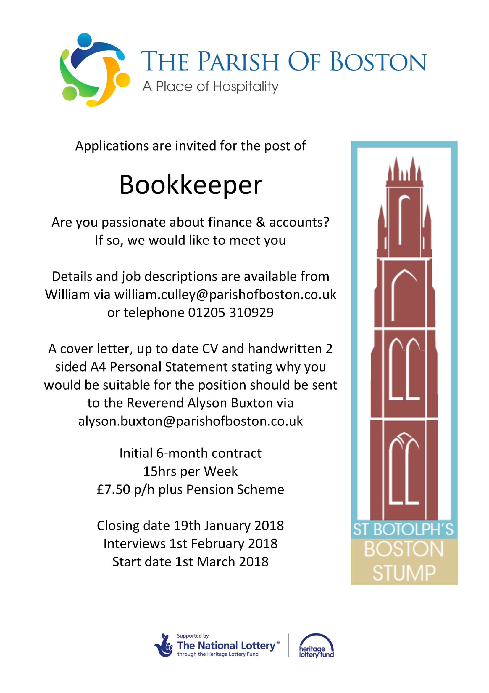 Bookkeeper-Advertit-1 Sample Job Adver For Bookkeeper on