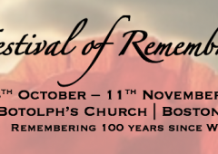 Festival of Remembrance – Preview Concert, 28th October, 6pm – 8pm featured image